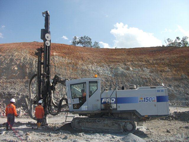 furukawa drilling blast hole