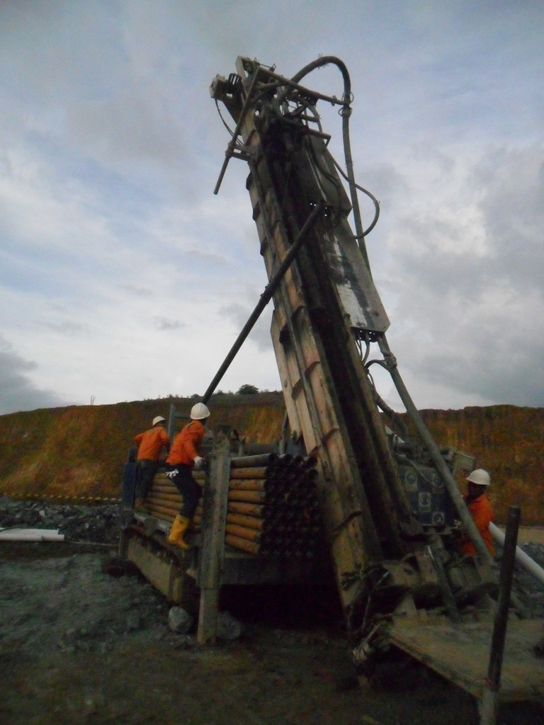 Thor Rig 15 Grade Control in North Sulawesi
