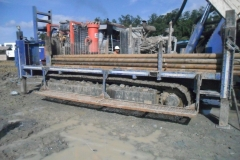 Thor Rig 15 Grade Control in North Sulawesi